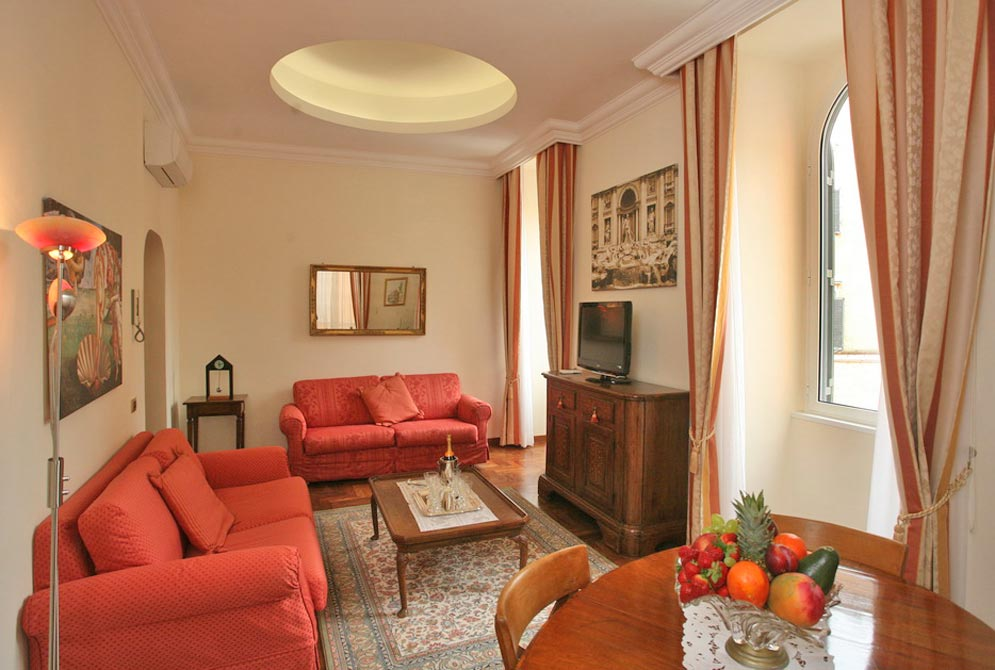camposup-Living-Luxury-Suite-Campo-dei-Fiori